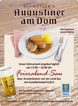 Augustiner Am Dom Munchen Natur Pur Kuche Regional Hausgemacht